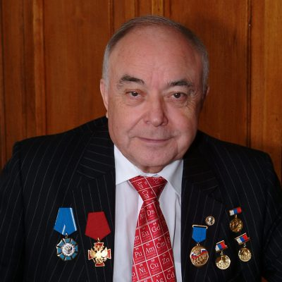 Academician of RAS, Prof. <strong>Valery V.Lunin</strong>